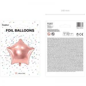 kerstversiering-folieballon-rose-golden-star-70cm-2