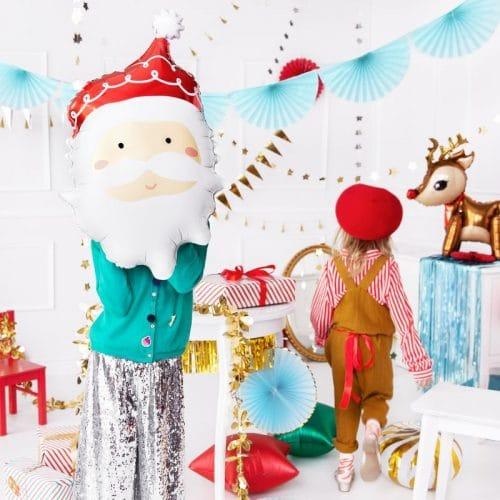 kerstversiering-folieballon-santa-2