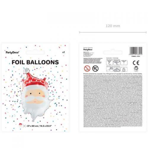 kerstversiering-folieballon-santa-4