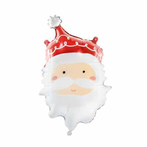 kerstversiering-folieballon-santa