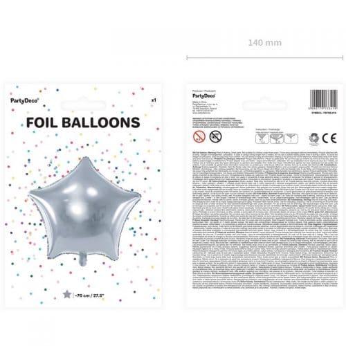 kerstversiering-folieballon-silver-star-70cm-2