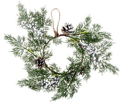 kerstversiering-kerstkrans-pine-cone-wit-3