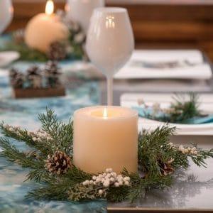 kerstversiering-kerstkrans-pine-cone-wit