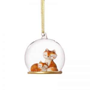 kerstversiering-kerstornament-mum-and-baby-fox-dome