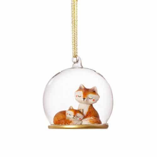 kerstversiering-kerstornament-mum-and-baby-fox-dome