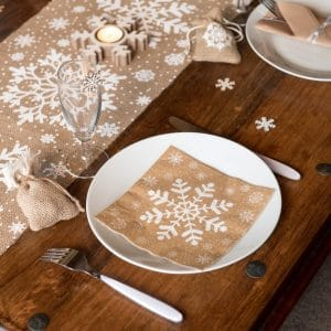 kerstversiering-servetten-natural-snowflake-2