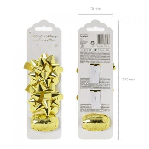 kerstversiering-set-ribbons-and-rosettes-goud-3