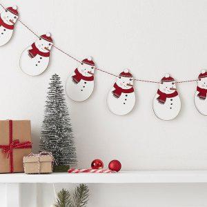 kerstversiering-slinger-wooden-snowman-silly-santa-2