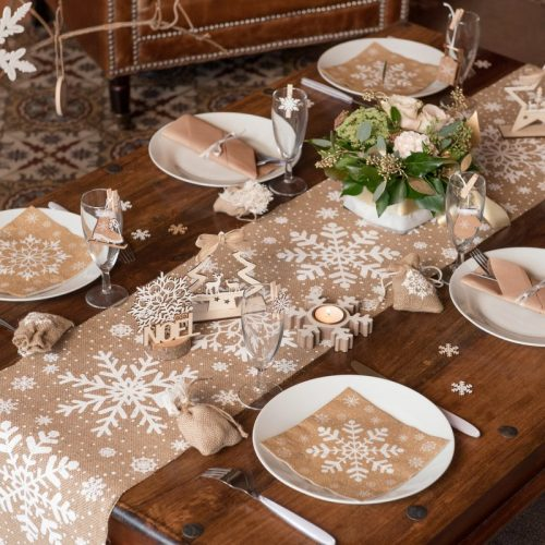 kerstversiering-tafelloper-snowflake-3
