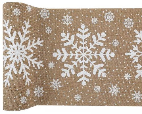 kerstversiering-tafelloper-snowflake-5