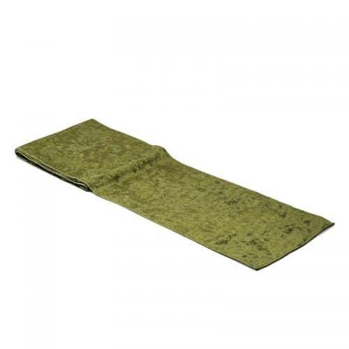 kerstversiering-velvet-tafelloper-emerald-green