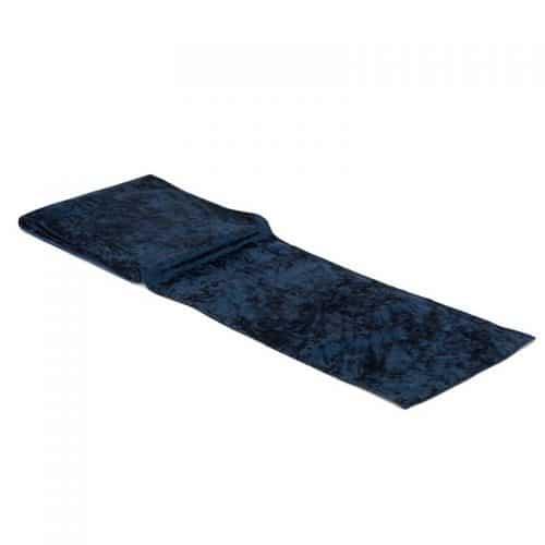 kerstversiering-velvet-tafelloper-navy-blue