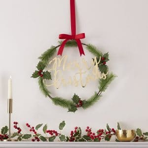 kerstversiering-wreath-merry-christmas-traditional-touches-2
