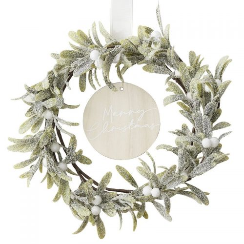 kerstversiering-wreath-misletoe-merry-christmas-snow-place-like-home-2