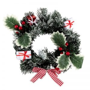 kerstversiering-wreath-nordic-decorated-30cm
