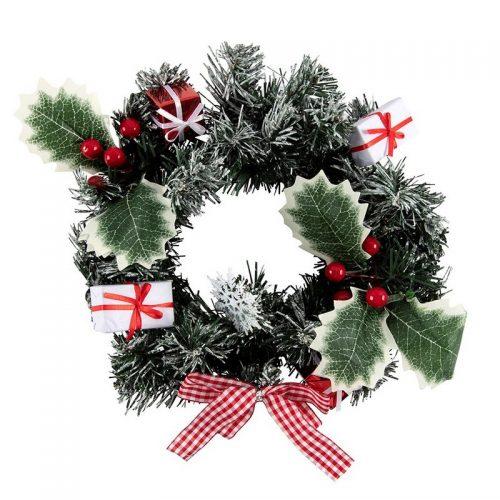 kerstversiering-wreath-nordic-decorated-30cm