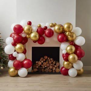 kerstversiering-ballonnenboog-gold-red-white-merry-everything-2