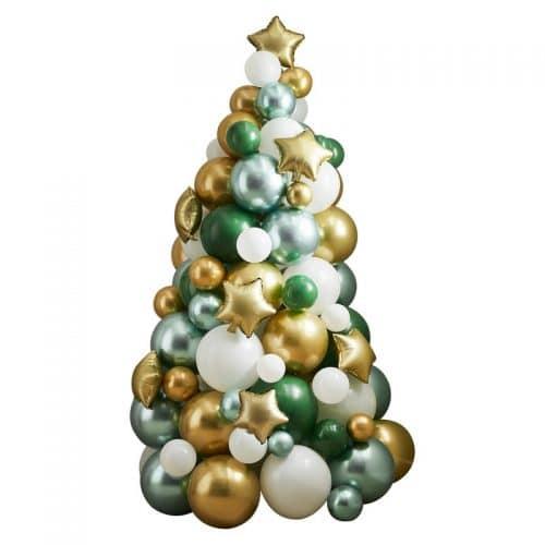 kerstversiering-ballonnenboom-green-gold-white-nordic-noel-2