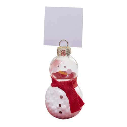 kerstversiering-plaatskaarthouders-snowman-merry-everything