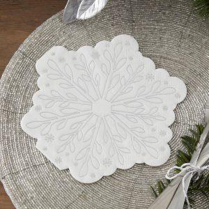 kerstversiering-servetten-snowflake-season-for-silver-2