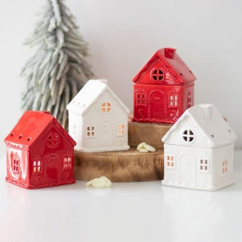 kerstversiering-wax-melt-brander-white-christmas-house-with-candy-cane