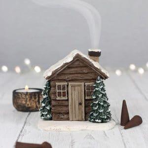 kerstversiering-wierook-kegel-brander-wooden-cabin