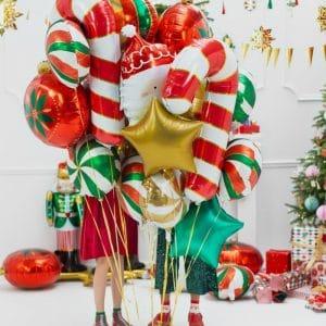 kerstversiering-folieballon-candy-green-white (1)