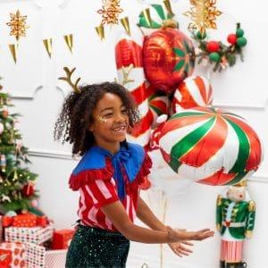 kerstversiering-folieballon-candy-red-green (2)