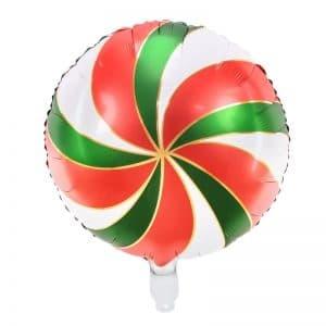 kerstversiering-folieballon-candy-red-green