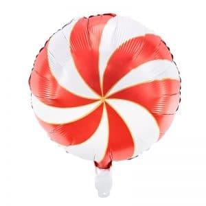 kerstversiering-folieballon-candy-red-white