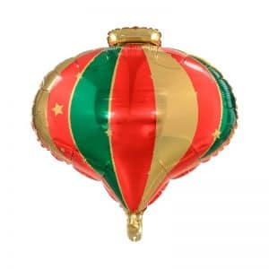 kerstversiering-folieballon-christmas-bauble-red-green-gold