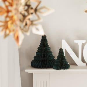 kerstversiering-honeycomb-christmas-tree-bottle-green-24-cm (1)