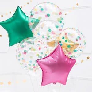 kerstversiering-orb-ballon-dots-mix-40cm (1)