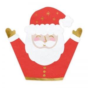 kerstversiering-servetten-santa-claus