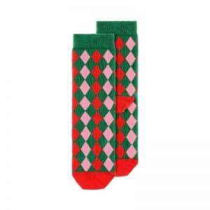 kerstversiering-sokken-rhombus-maat-31-34