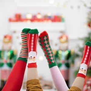 kerstversiering-sokken-stripes